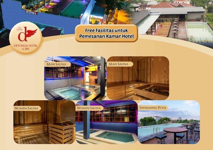 Premium Room at De'Tonga Hotel