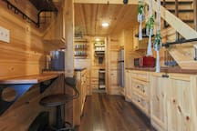 tiny home living space