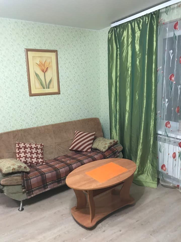 """""""Зелёная квартира» на проспекте"""