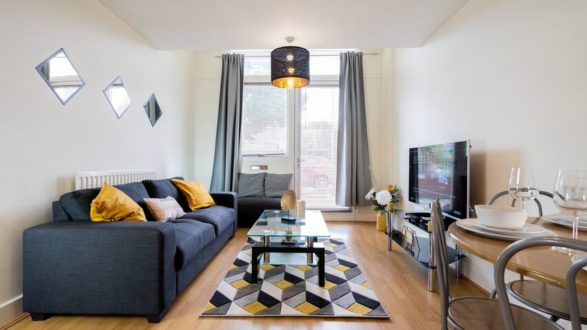 Modern, Cosy Apartment - Broad Street&BrindleyPl