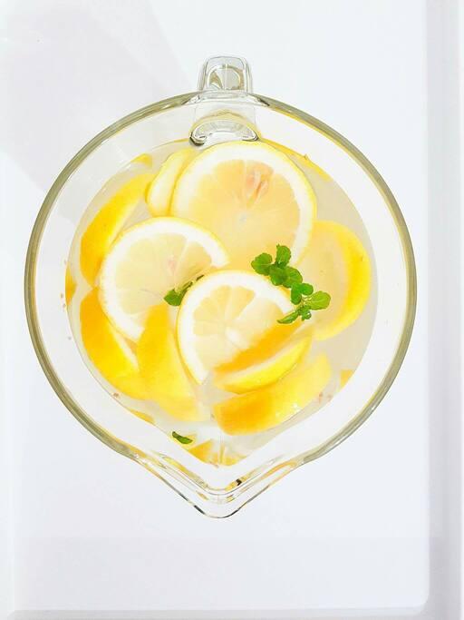 Limonada para os nosso convidados.