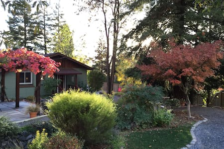 Northern Alexander Valley 2Bd Cottage - Cloverdale - Casa