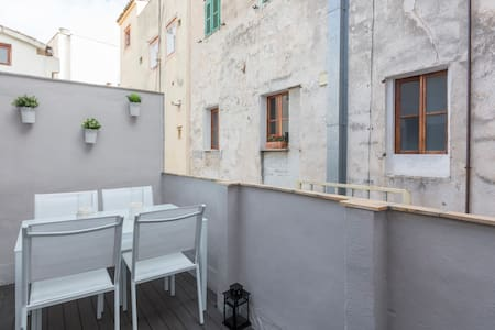 VEINAT Apartment w/ PRIVATE TERRACE - OLD TOWN - Palma