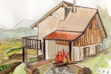 Eco refuge ma cabane perchée en Rhône-Alpes