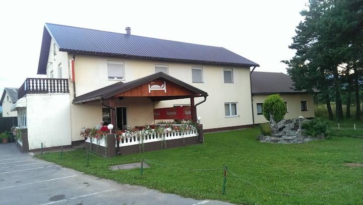 Holiday House, Smiljan  (near MC Nikola Tesla)