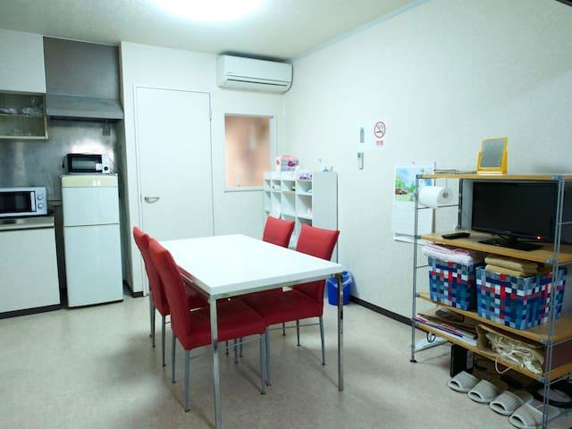 Safe & clean! Enjoy Osaka from a convenient location ☆ Tsurumibashi House