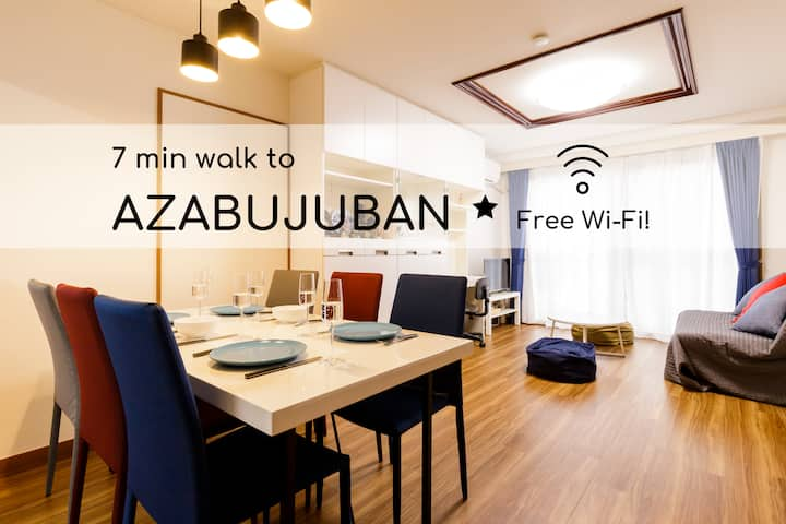 202*Family APT in Azabu*69m2*13 min to Shinjuku