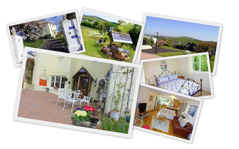 Marmalade Cottage + Sea Countryside & Garden views - Brading - Rumah