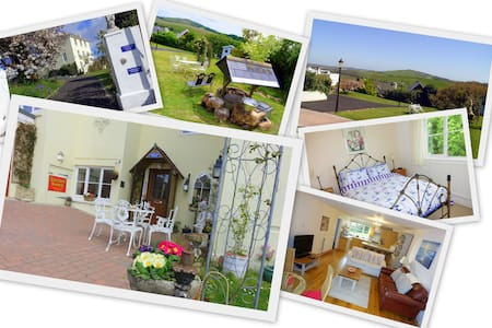 Marmalade Cottage + Sea Countryside & Garden views - Brading - 獨棟