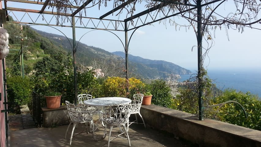 Panoramic Room - Charming Villa - Vernazza - Villa