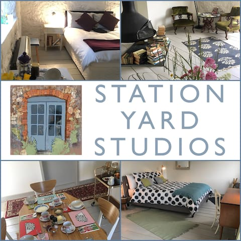 3 exceptional:cosy rooms: @Station Yard Studios