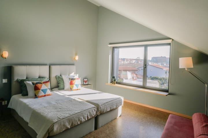 Guest house EÇA AGORA! suite O EGIPTO - 36m²