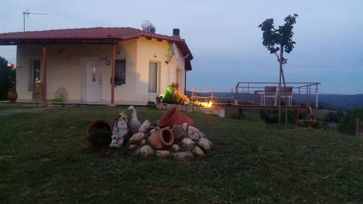 Villa with big garden