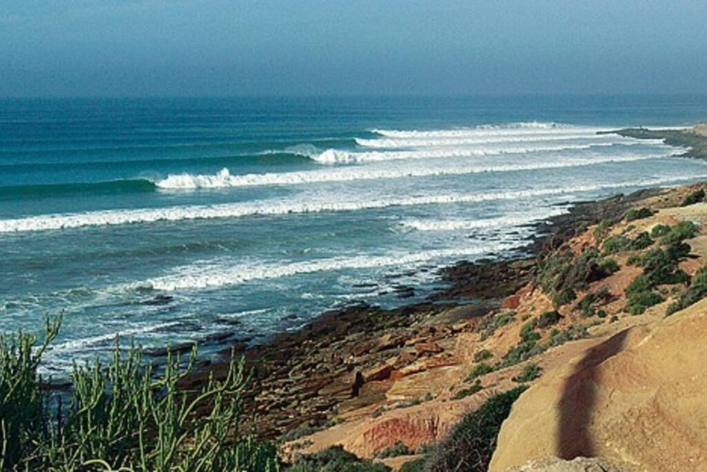 Spot de surf Taghazout (troisième meilleure destination mondiale)