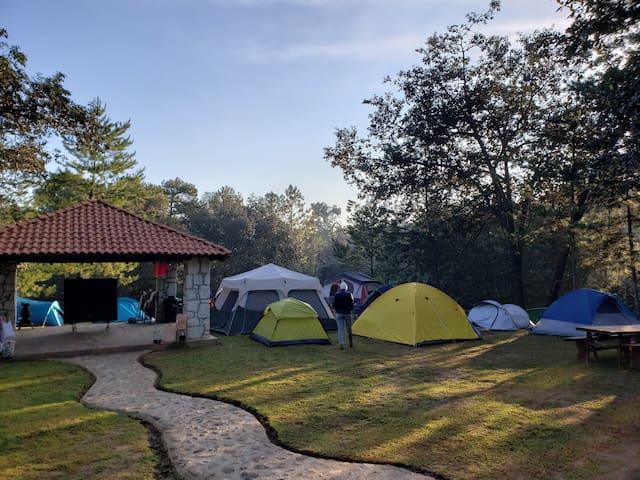 """Campamentos en Huasca """" El Principio """""""