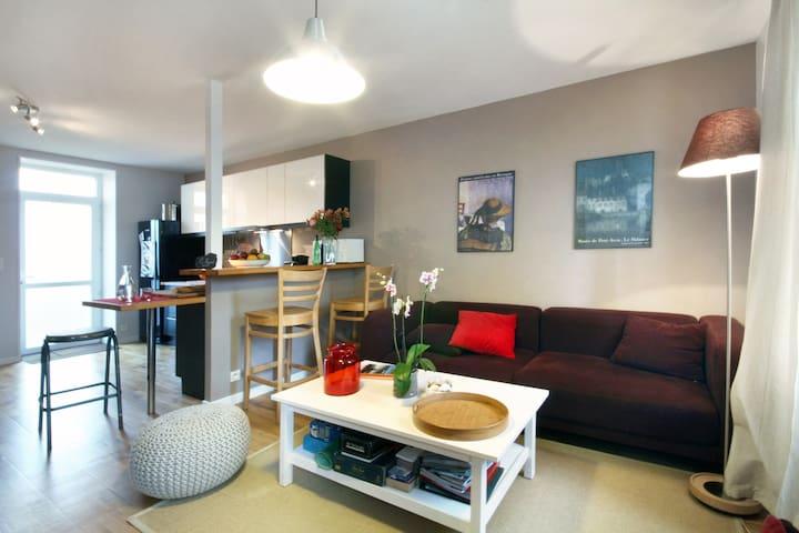Charmante maison / jardin Bretagne - Plouescat - Casa