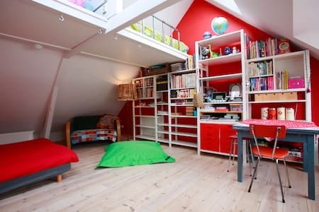 Our attic in the 'Zeeheldenbuurt' - Amsterdam