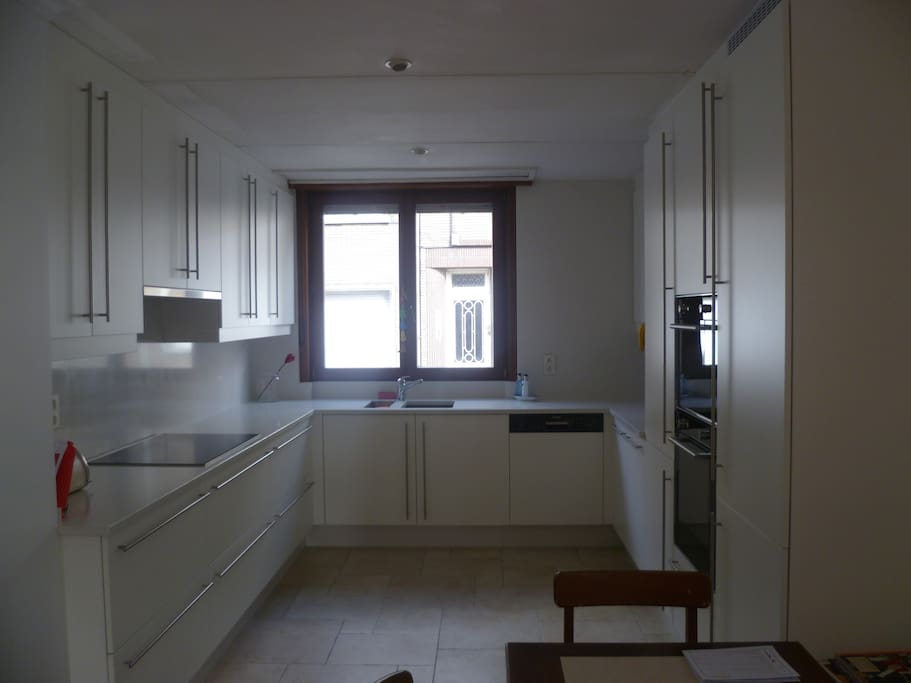 Fully equiped kitchen (dishwasher, over, microwave)