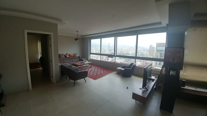Cozy apartment with a beautiful view