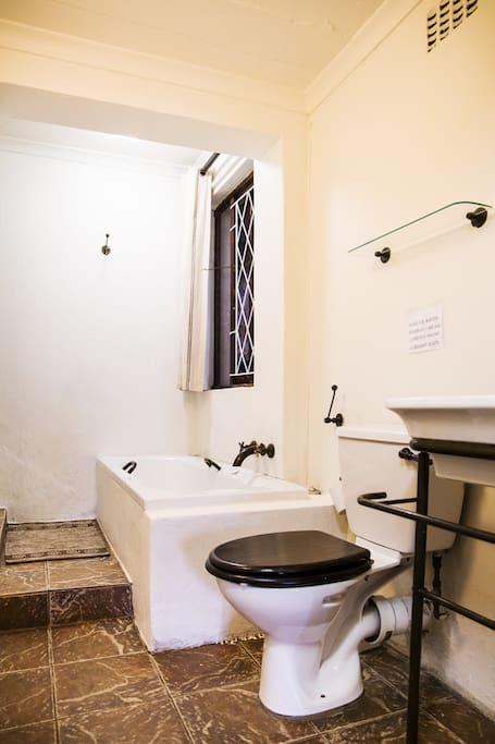 Ensuite bath and shower