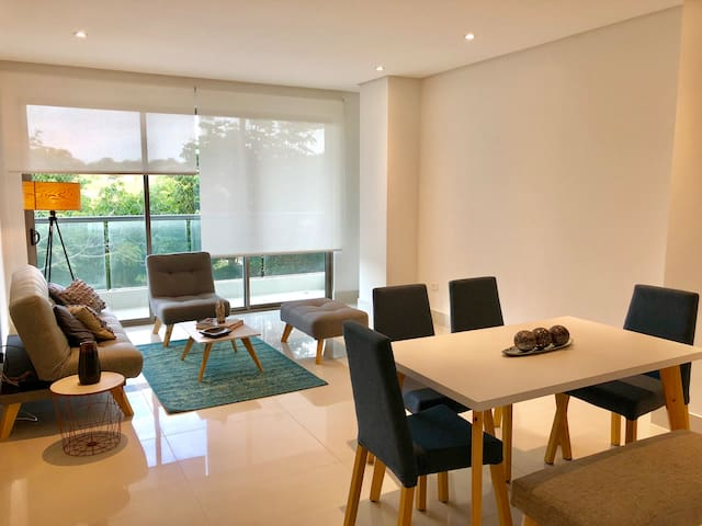 Exclusivo apartamento en condominio campestre