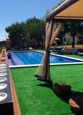 AlgarvePT farm cottage3  Air cond& pool for family - Alcantarilha - Casa de camp
