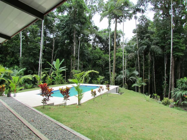 Stunning and quiet jungle house - Punta Uva