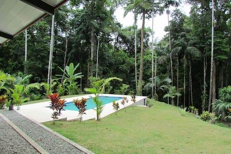 Stunning and quiet jungle house - Punta Uva - Casa