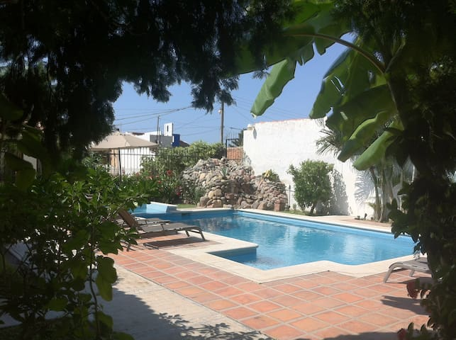 2 BR Bungalow by the pool - Bucerias - Cabin