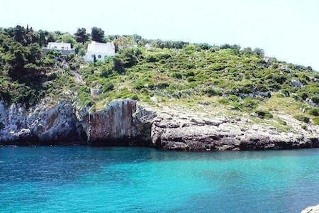 VILLA GIRASOLI IN A BEAUTIFUL BAY - Tricase - Villa