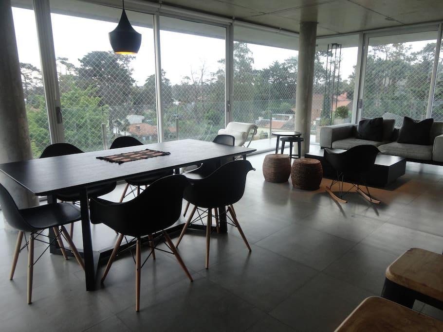 Penthouse view exclusive terrace flats for rent in for Muebles en maldonado uruguay