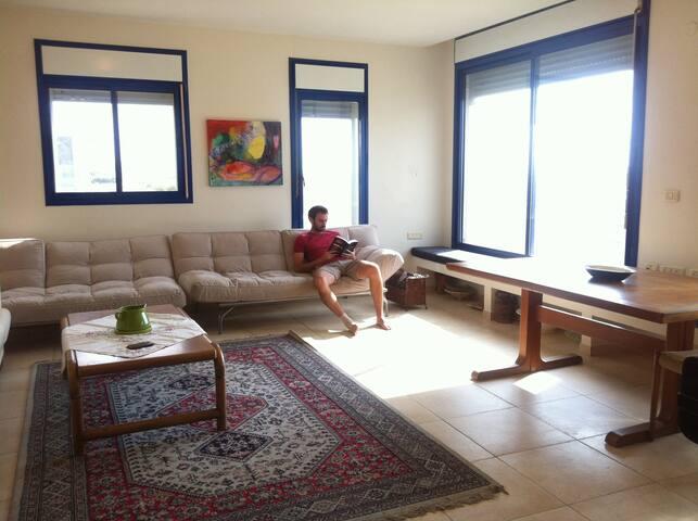 Spacius apartment on the beach - Nahariyya - Pis