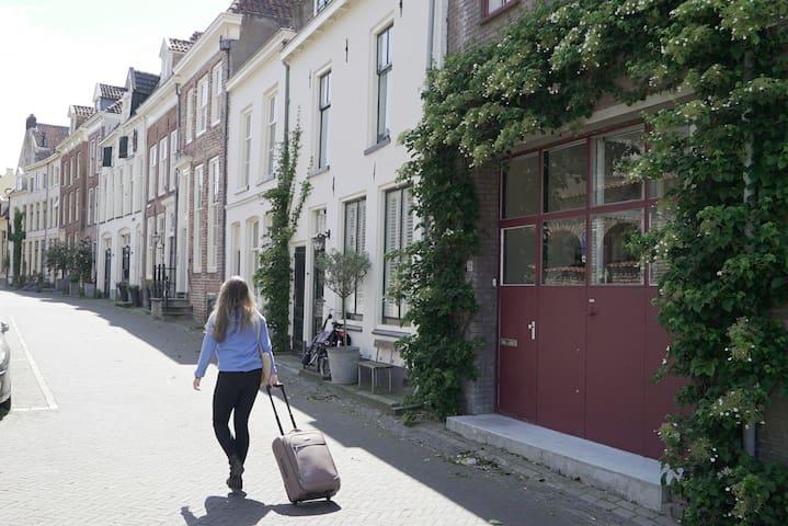 De Rode Deur in hartje Zutphen