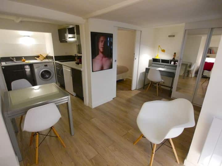 Appartement cosy Marais - annulation flexible