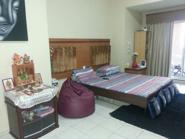 Shared studio near Ibn Batutta Mall