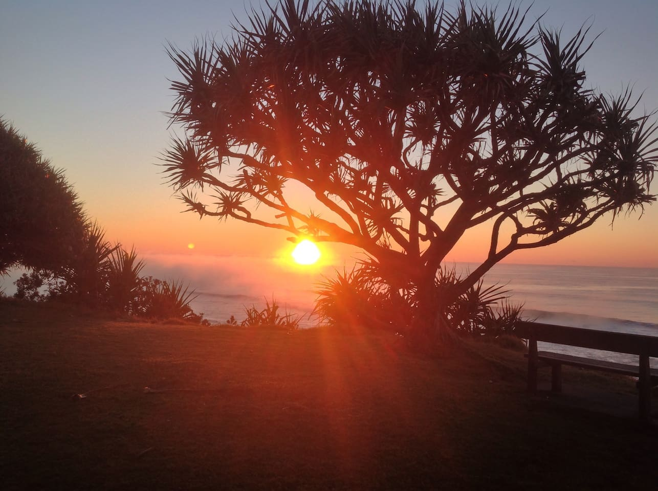 Stunning Corindi Sunrise over the Solitary Islands