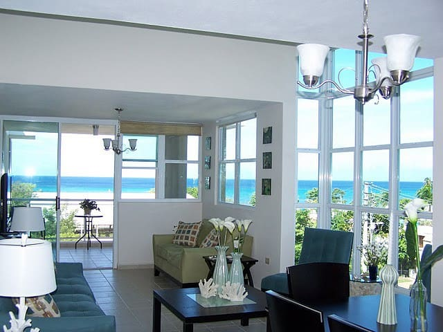 Top Floor, Big Ocean View in Rincón - Rincón - Daire