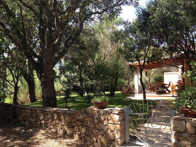 Maison de vacances avec beau jardin