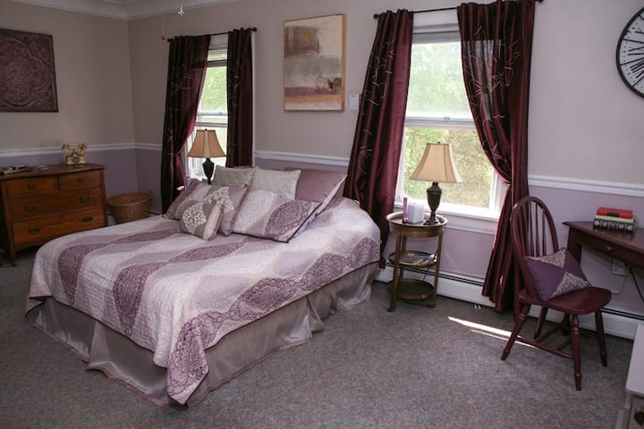 "Fox Hill B&B: ""Thalia"" suite  2 rms  and  pv bath"