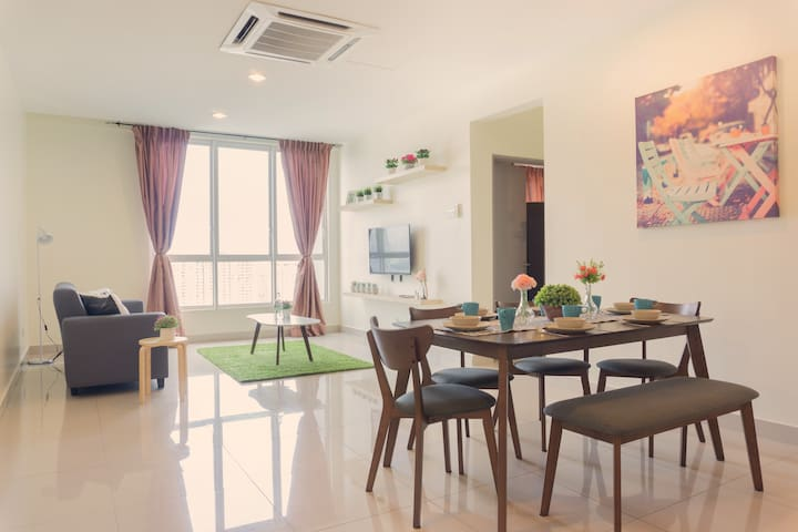 【Comfy Home】above Setapak Central Mall | 3-10 PAX