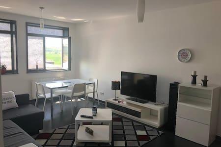 Bright, Modernized Apartment Close to Rockhall