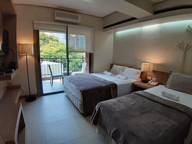 2-Bed Studio with Balcony in Cebu City