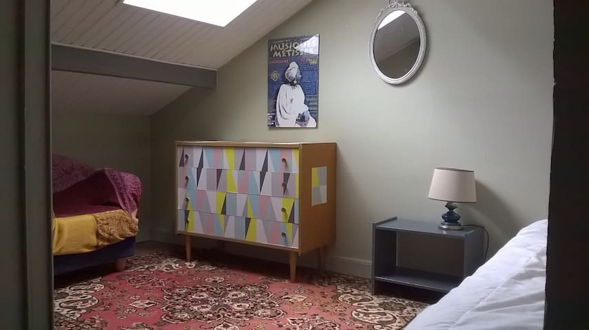 Chambre mansardée