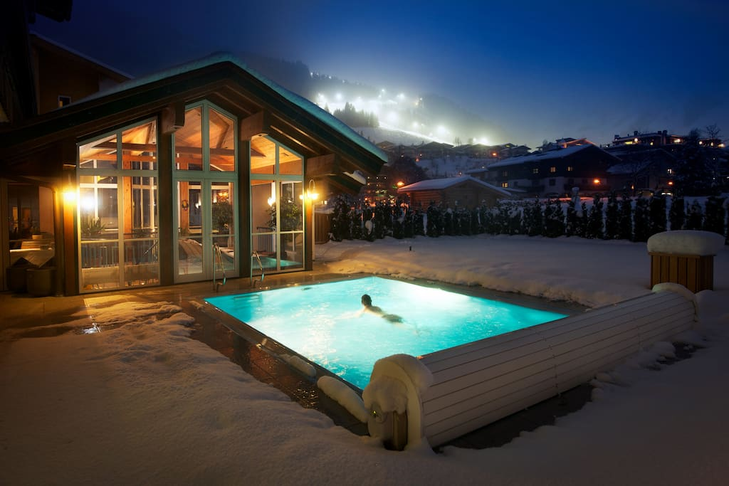 Included Pool and Sauna