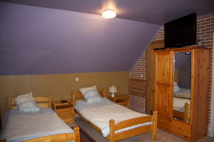 Room 6  B&B  Breeden Steeger Farm - Lichtervelde