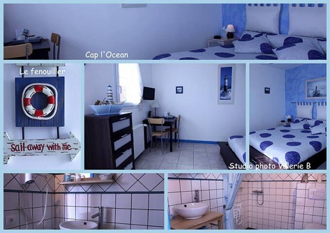 CAP L'OCEAN : Chambres d'Hôtes - Le Fenouiller - Bed & Breakfast