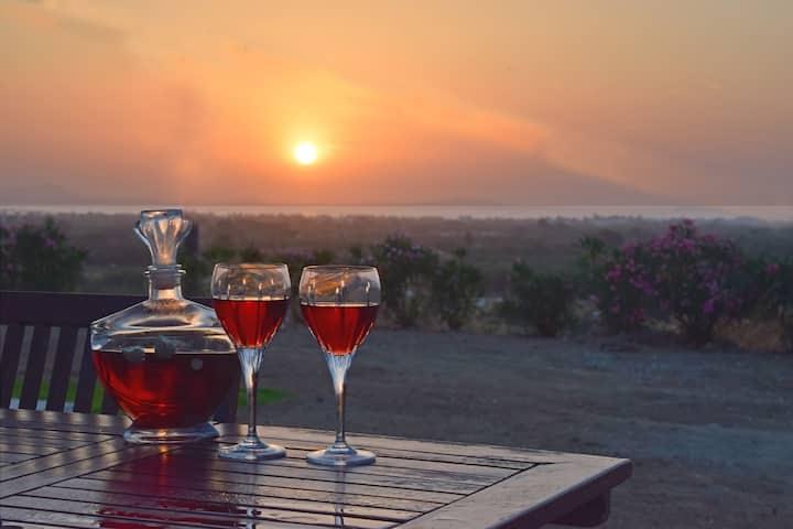 Naxian vacation with sea view, Naxos