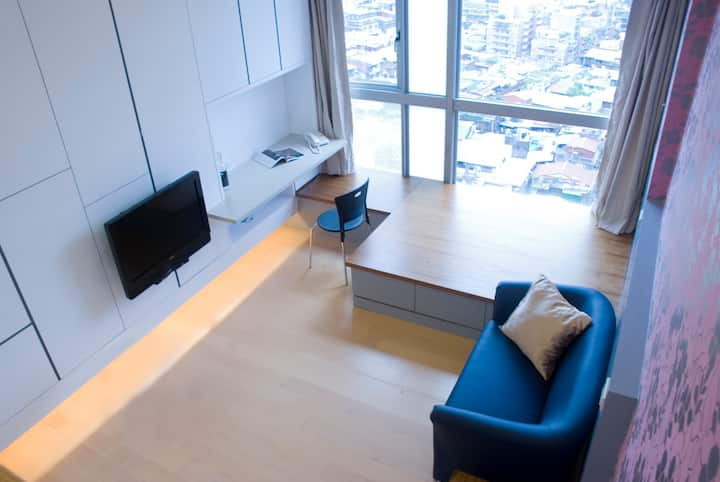 Luxury Studio,24hrs security,near Taipei 101,MRT_3