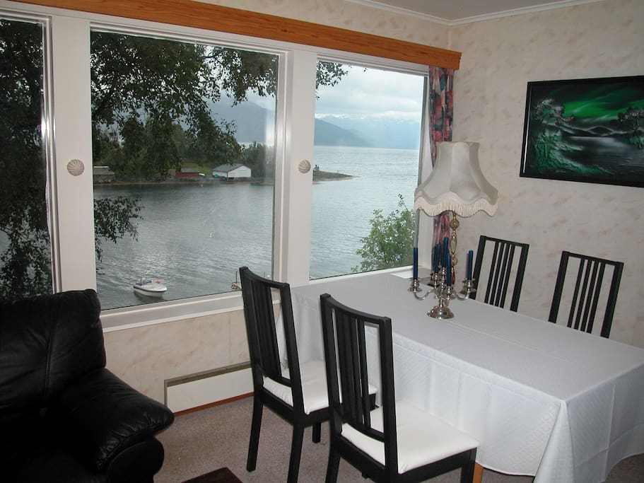 View from dining/living-room