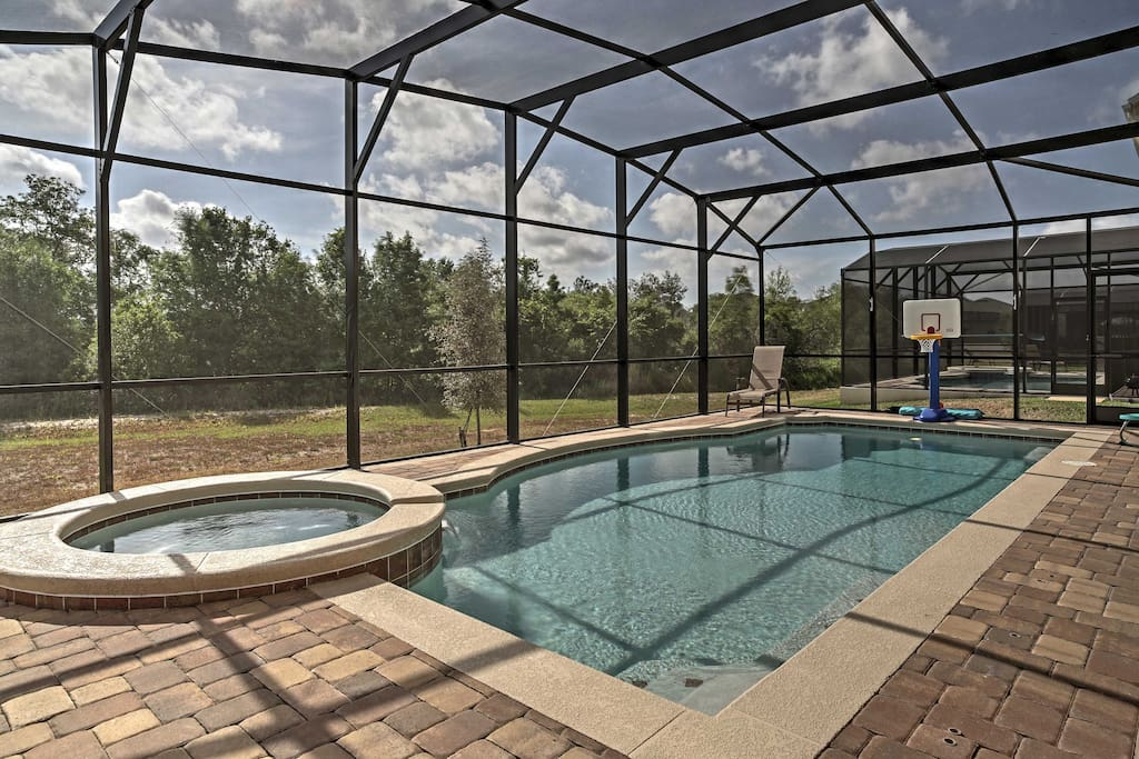 Your getaway to the Sunshine State begins when you book this 7-bed, 6-bath home